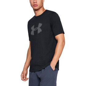 Under Armour Big Logo Short Sleeve Shirt Men, black-graphite